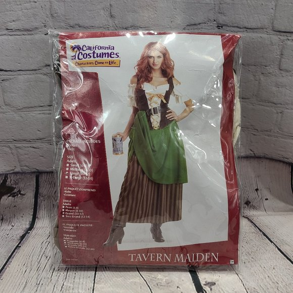 California Costumes Other - California Costumes Tavern Maiden still in package